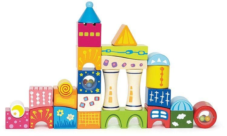 Marbel Ltd - Hape Fantasia Blocks Castle from Hape