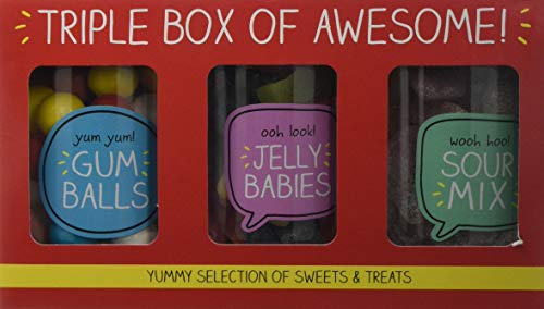 Happy Jackson Trio Jar Sweets Gift Pack, 670 g from Happy Jackson