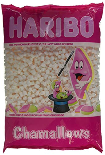 Haribo Chamallows Mini White Retro Kids Sweets - 1kg from Haribo
