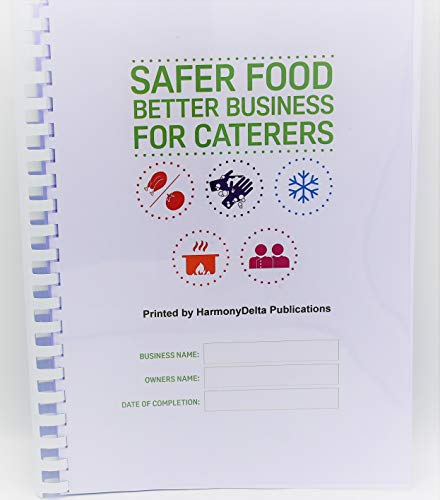 Safer Food Better Business for Caterers Restaurants Takeaways 2019 Full Updated Pack SFBB + 13 Month Diary from HarmonyDelta Publications
