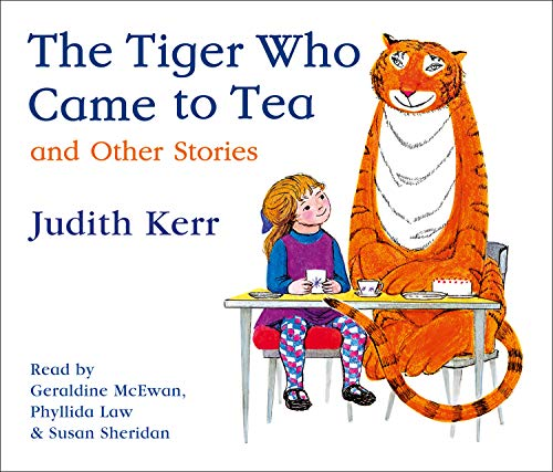 The Tiger Who Came to Tea and other stories CD collection from HarperCollins