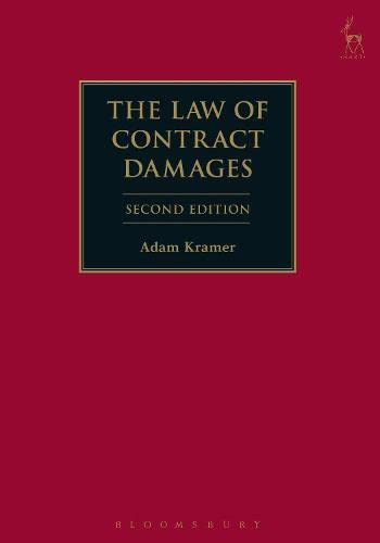 The Law of Contract Damages from Hart Publishing