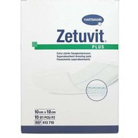 Zetuvit Plus 10cm x 10cm Dressing pads 10  413 710 from Hartmann