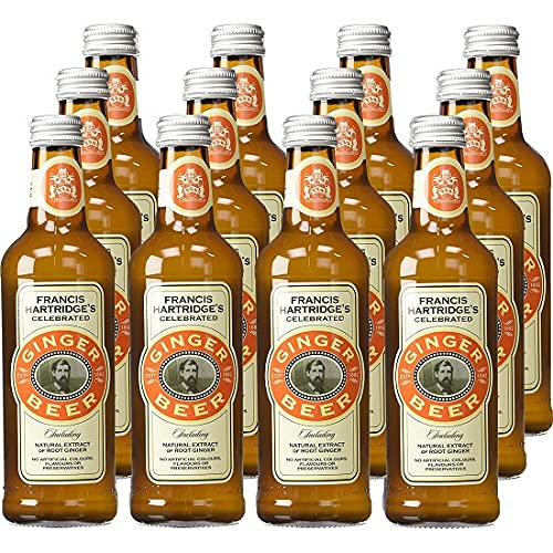 Hartridge'S Ginger Beer 330 ml (Pack of 12) from Hartridges
