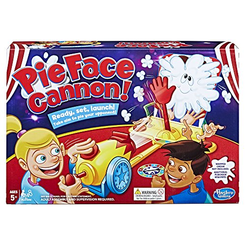 Hasbro Gaming Pie Face Cannon Game Whipped Cream Family Board Game from Pie Face