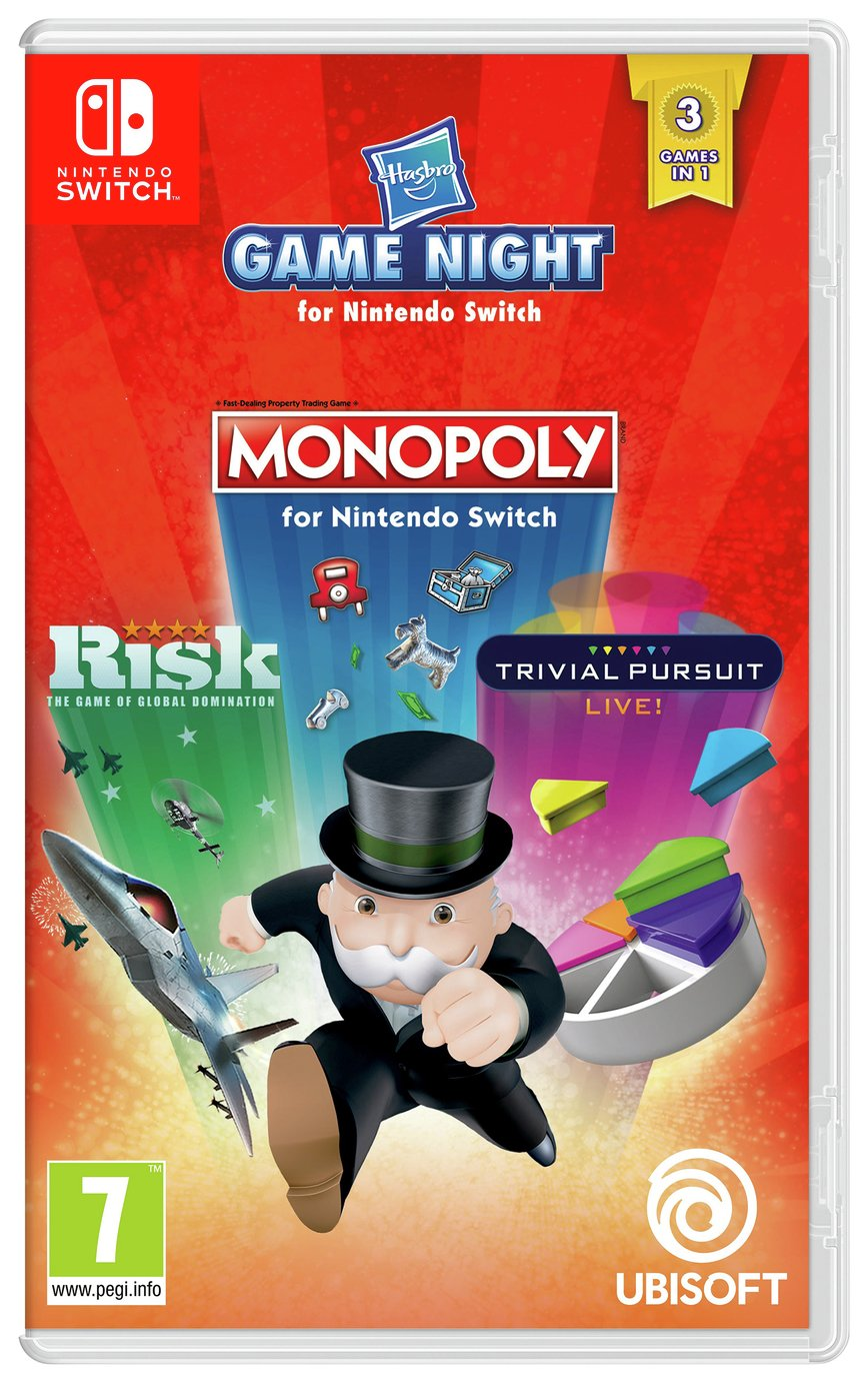 Hasbro Game Night Nintendo Switch Game from Hasbro