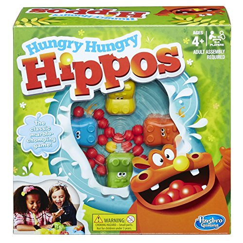 Hasbro Gaming Elefun & Friends Hungry Hungry Hippos Game from Hasbro