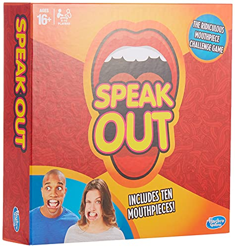 Hasbro Gaming Speak Out Game from Hasbro