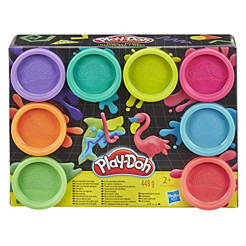 Hasbro Playdoh Pack 8 Jars Multicolour (E5063 from Play-Doh