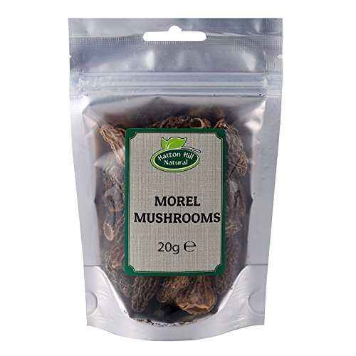 Dried Whole Morel Mushrooms 20g - A Premium Quality by Hatton Hill from Hatton Hill