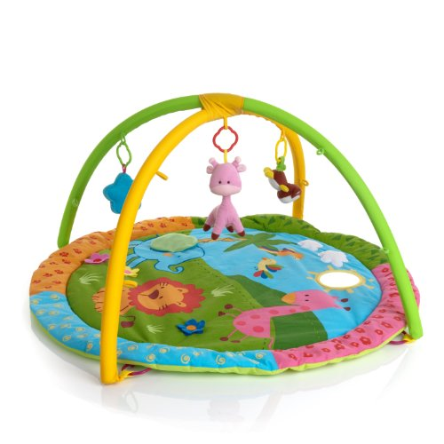 Hauck Activity Centre Safari Friends Playmat - Multi-Coloured from Hauck