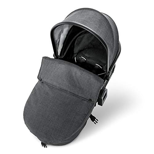 Hauck Carrycot / Bassinet Pram Unit Kit for Duett 3 (Melange Black) from Hauck