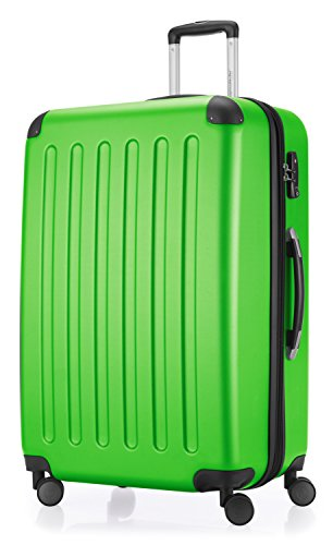 HAUPTSTADTKOFFER - Spree - Set of 3 Suitcases Trolley Set Trolley Suitcase Expandable, TSA, 4 Wheels, (S, M & L), Apple Green from Hauptstadtkoffer