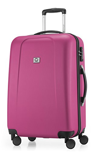 HAUPTSTADTKOFFER - Wedding - Luggage Suitcase Hardside Hard Shell Spinner Trolley 4 Wheel Case, TSA, 65 cm, 67 Liter, Magenta from Hauptstadtkoffer