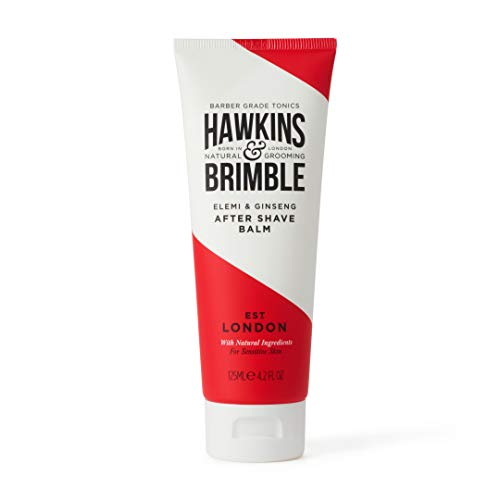 Hawkins & Brimble After Shave Balm for Men 125 ml - Moisturising Male Skin Protection | Post Shave Cream/Lotion from Hawkins & Brimble