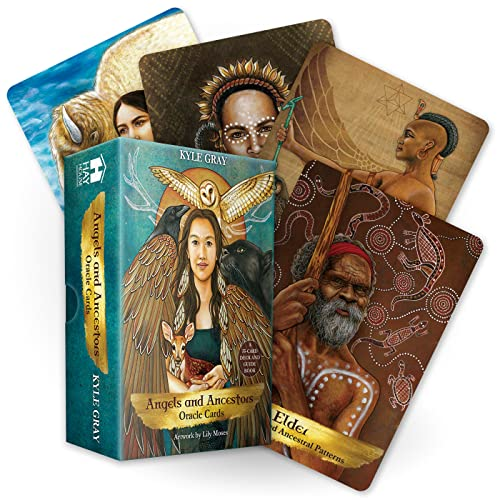 Angels and Ancestors Oracle Cards: A 55-Card Deck and Guidebook from Hay House UK