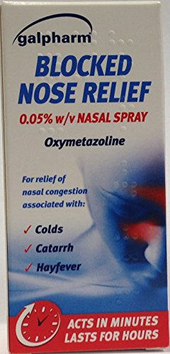 Galpharm Nasal Decongestant Spray 15ml from Hay Max