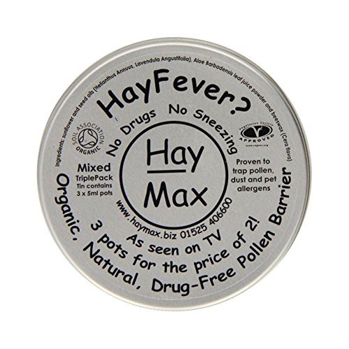 HayMax 15ml Organic Pure Pollen Barrier Balm Triple Pack from Hay Max