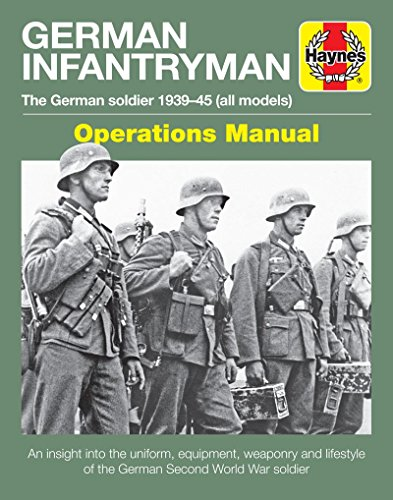 German Infantryman Manual (Haynes Manuals) from Haynes Publishing UK