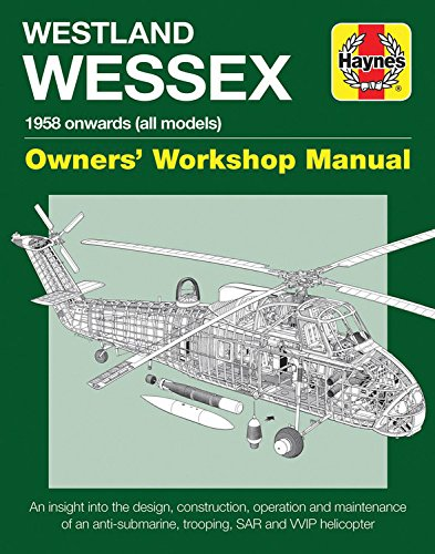Westland Wessex Manual (Haynes Manuals) from Haynes Publishing Group