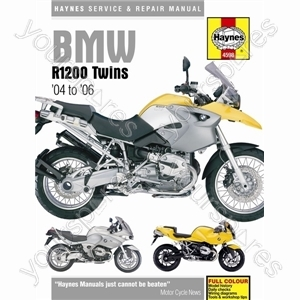 Motorcycle Manual - BMW R1200 Twins (2004-2009) from Haynes