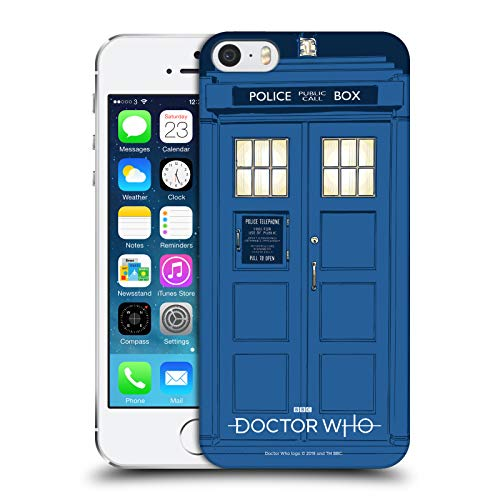 Official Doctor Who Tardis Season 11 Graphics Hard Back Case Compatible for Apple iPhone 5 / iPhone 5s / iPhone SE 2016 from Head Case Designs