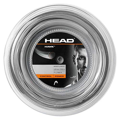 HEAD Hawk Tennis String Reel, Grey, 1.30mm from Head