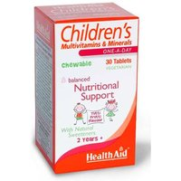 Health Aid Children's Multivitamins & Minerals 30 Chewable Tablets from Health Aid