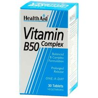 Health Aid Vitamin B50 Complex 30 Tables from Health Aid
