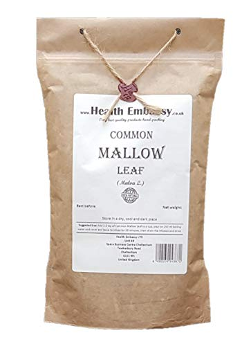 Health Embassy Common Mallow Leaf (Malva sylvestris L) (50g) from HEALTH EMBASSY