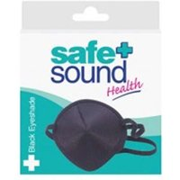Safe and Sound Black Eyeshade x 1 from Health