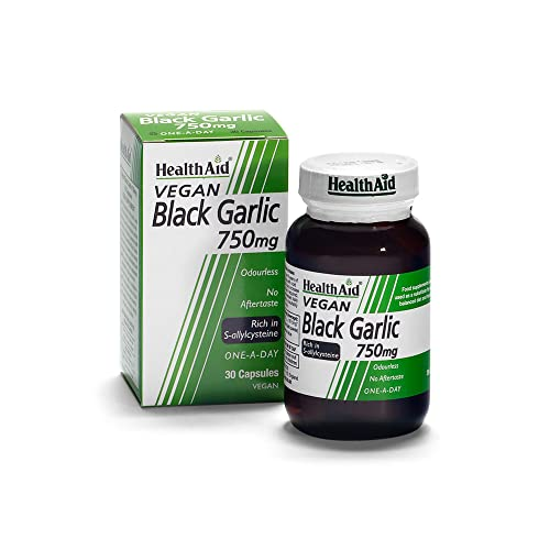 HealthAid Black Garlic 30 Vegicaps 750 mg from HealthAid