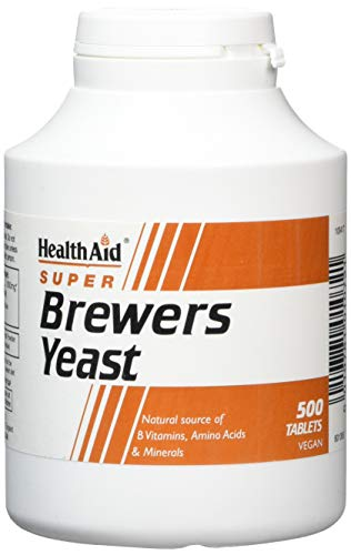 HealthAid Brewers Yeast - 500 Tablets from HealthAid