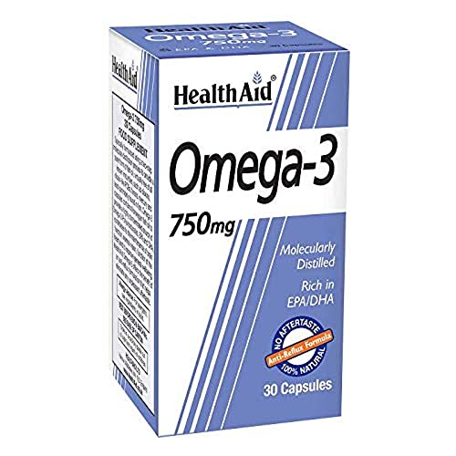 HealthAid Omega 3 Pack of 8 x 60 Capsules (480 Capsules) from HealthAid