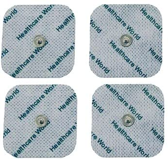 Healthcare World Four Stud Tens Pads For Beurer sanitas Tens Machines from Healthcare World