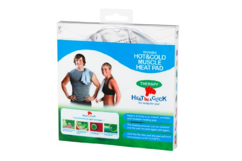 Heat in a Click Reusable Muscle Warm and Cold Heat Pad from Heat in a Click