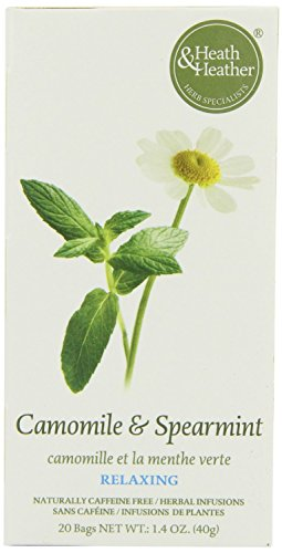 (2 Pack) - Heath And Heather - Camomile Spearmint Tea | 20 Bag | 2 PACK BUNDLE from Heath & Heather