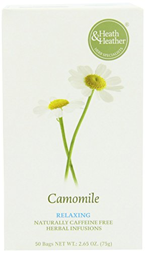 (3 PACK) - Heath And Heather - Camomile Herbal Tea | 50 Bag | 3 PACK BUNDLE from Heath & Heather