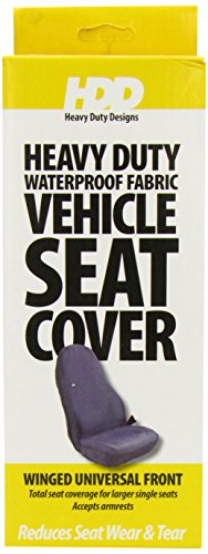 Heavy Duty Desgin-HDD-224 Seat Cover Universal Winged - Grey from Heavy Duty Designs