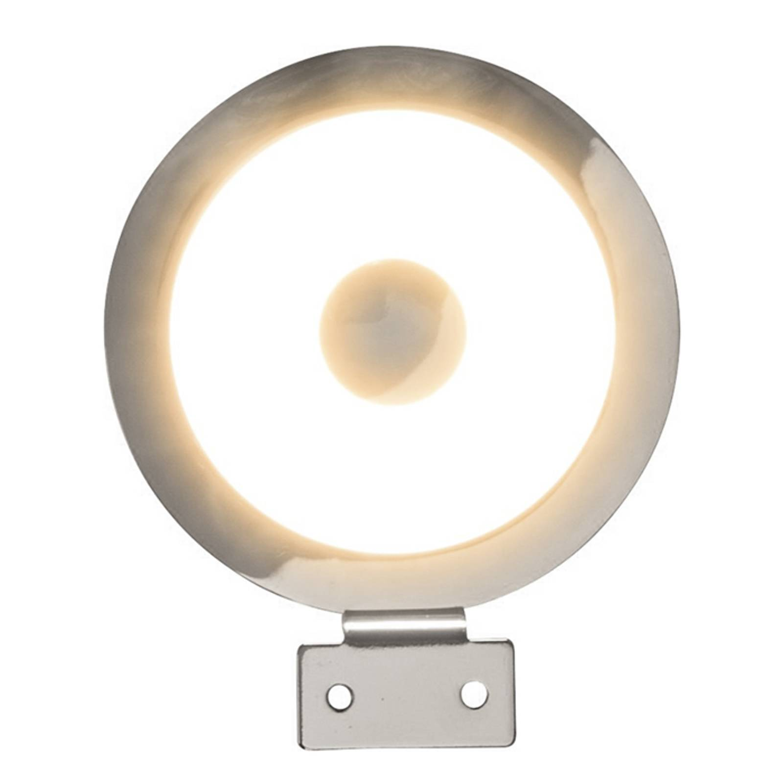 Round LED mirror light Tondo from Heitronic