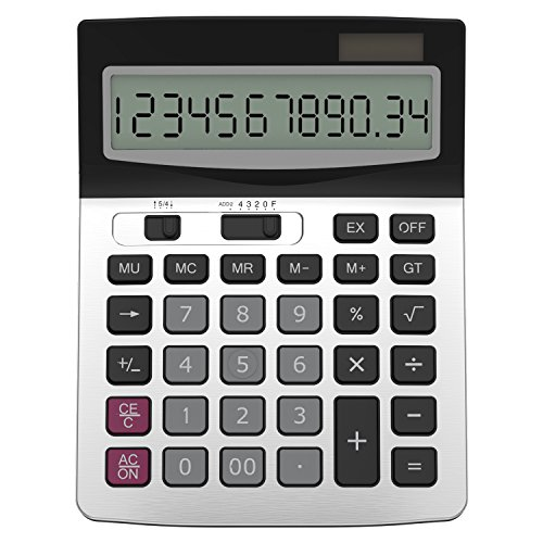 Helect H1006 Business Standard Function Desktop Calculator from Helect