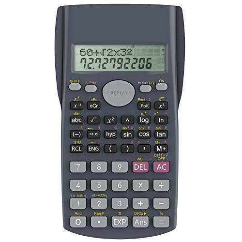 Scientific Calculator, Helect 2-Line Engineering Calculator - H1002 from Helect