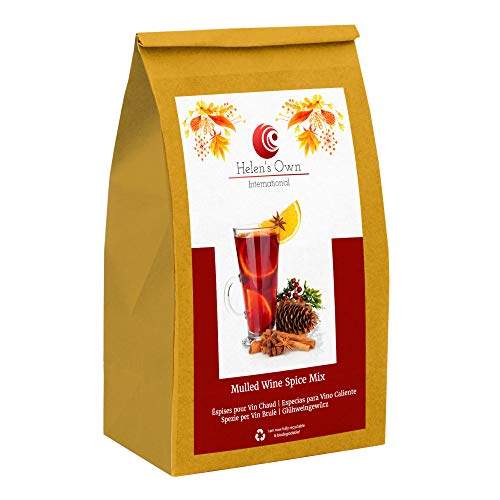 German Mulled Wine Spice Mix/Gluhwein - Mulling Spices - 20 x 1.5g Sachets - Glühwein Gewürz by Meßmer - Sold by Helen's Own - with Full English Recipe Booklet from Helen's Own