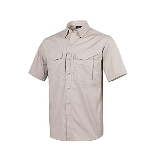Helikon Men's Defender Mk2 Short Sleeve Shirt Khaki size M from Helikon