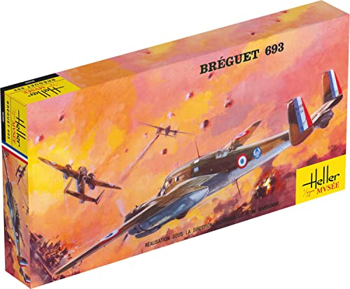 Heller – 80392 – Model Kit – Breguet 693 from Heller