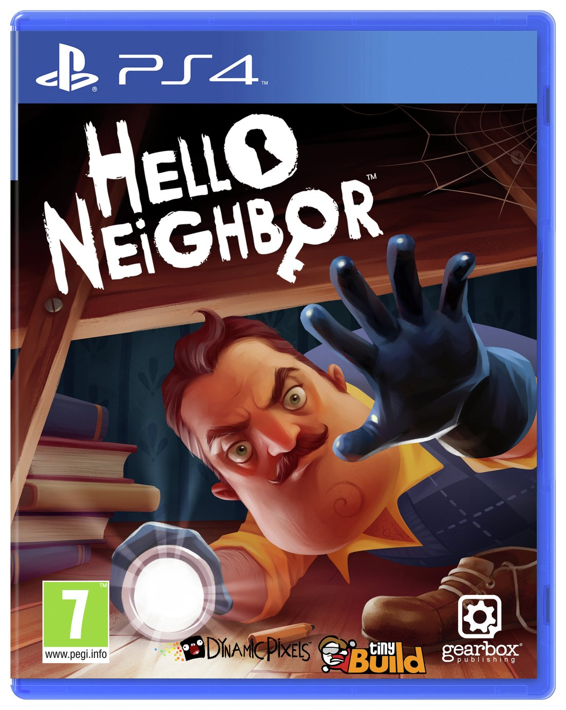 Hello Neighbor PS4 Game from Hello Neighbour
