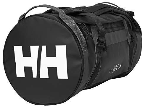 Helly Hansen Duffel Bag 2 - Sports Holdall, Durable Materials and Practical Size for a Travel Bag with Backpack Conversion, Black, STD from Helly Hansen
