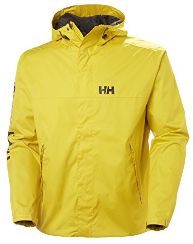 Helly Hansen 64032, Waterproof Jacket Unisex Adult, Men's, 64032_351-L, Zolfo, Large from Helly Hansen