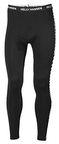 Helly Hansen Men's Base Layer Pants/Bottoms, Black, 2X-Large from Helly Hansen