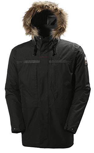 Helly Hansen Men's Coastal 2 Parka Insulated Waterproof Jacket, Black, X-Large (44 - 47 Inch) from Helly Hansen